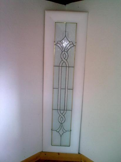 vitrail claustras model geometrique. Black Bedroom Furniture Sets. Home Design Ideas