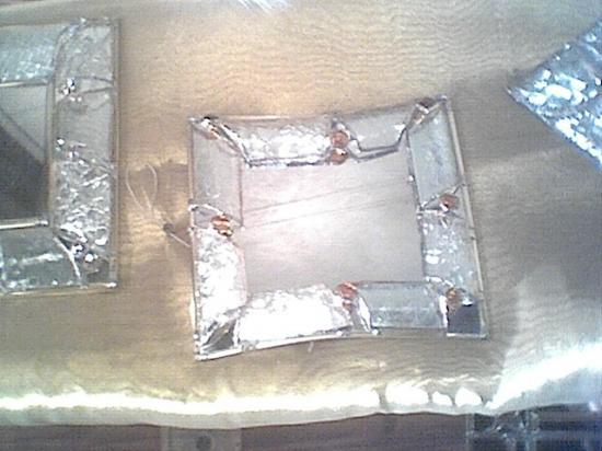 Miroir carre thermoform blanc for Miroir carre blanc