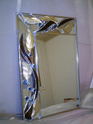 miroir verres thermoforme feuilles cuivre1