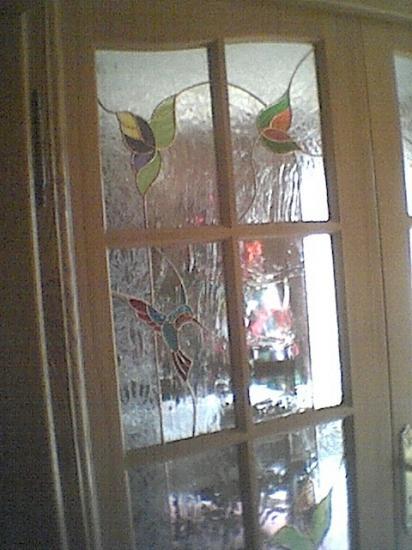 Cr ations pour portes fen tres for Decoration fenetre vitrail